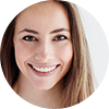 Small image of lady smiling